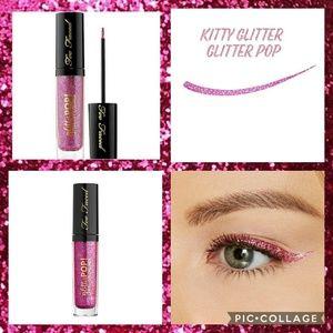 😻Too Faced Glitter Pop eyeliner Kitty Glitter